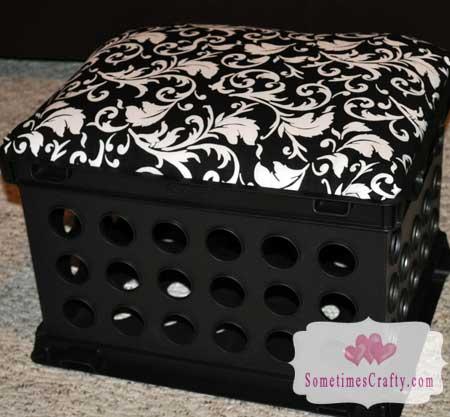 Storage Crate Seat