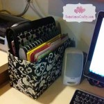 Cereal Box Turned File Holder