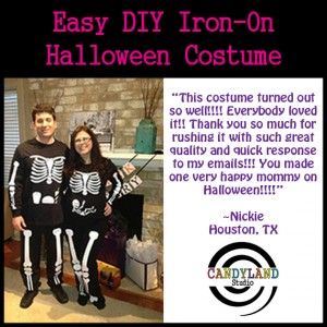 Couples Pregnant Skeleton Costume