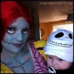 Sally & Baby Jack Skellington