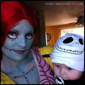 Sally & Baby Jack Skellington