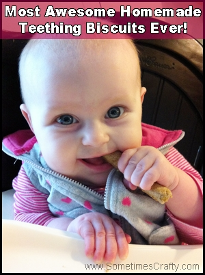 Best Homemade Teething Biscuit Recipe