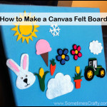 How to Make a Canvas Felt Board