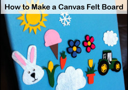 Make a Felt Board for Fun Learning