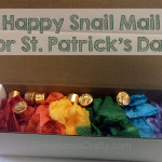 Happy Snail Mail Boxes for St Patricks Day
