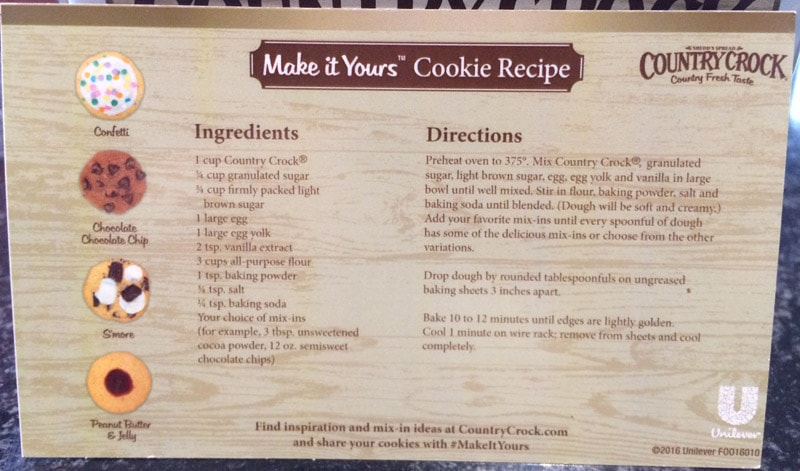 Make it Yours Cookie Recipe - SometimesCrafty.com