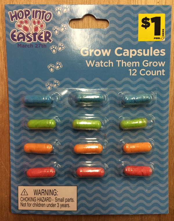 Easter Theme Grow Capsules