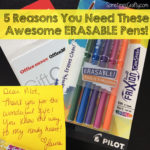 5 Reasons You Need Pilot Frixion ColorSticks Pens