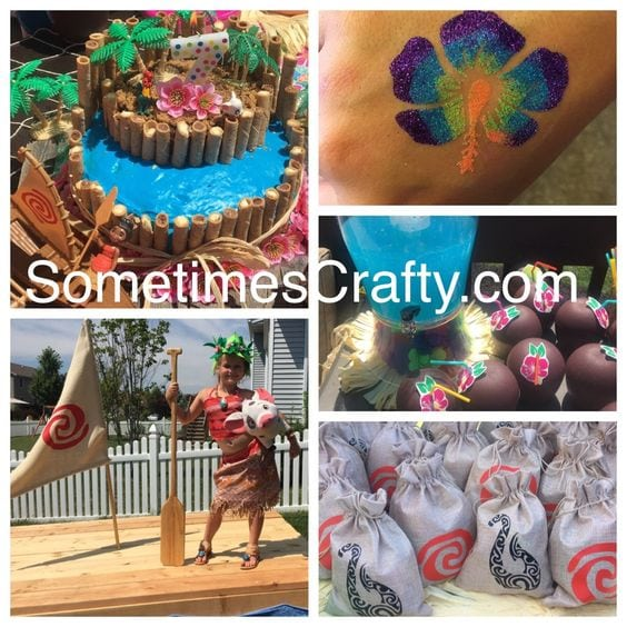 Moana Theme Birthday Party – Sneak Peek