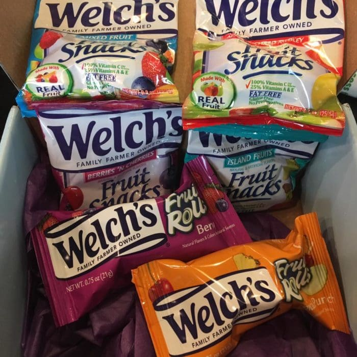 Welch's VoxBox from Influenster