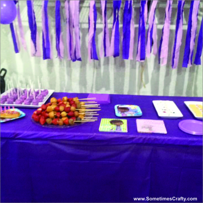 Doc McStuffins Birthday Party Ideas Food Table