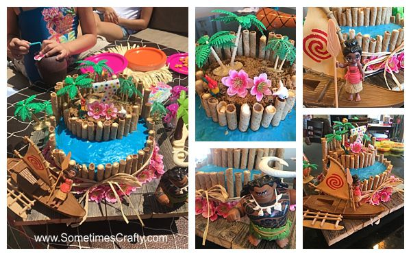 Moana Party Cake Ideas