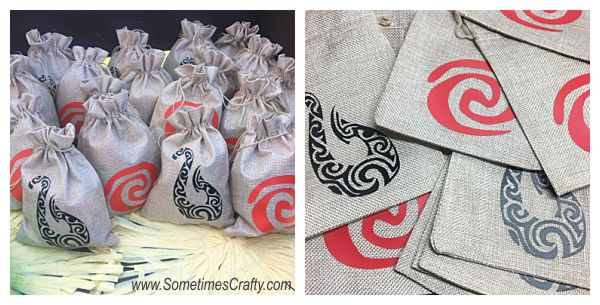 Moana Party Favor Bag Ideas