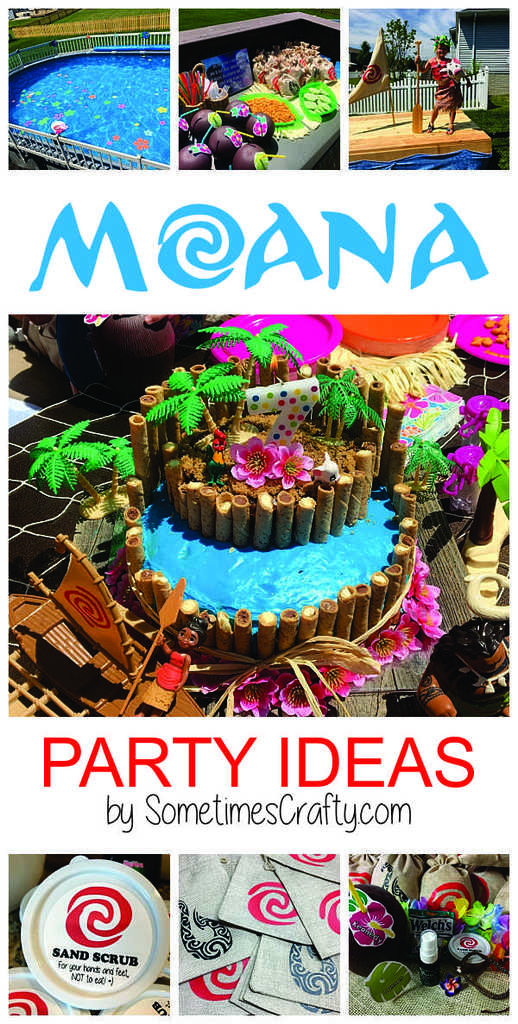 Moana Party Ideas Blog Graphic