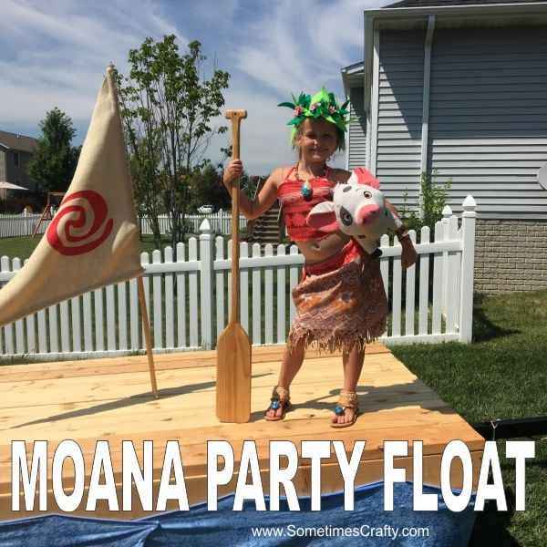 Moana Party Ideas Float