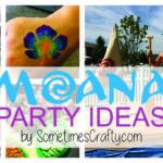 Moana Party Ideas by SometimesCrafty.com
