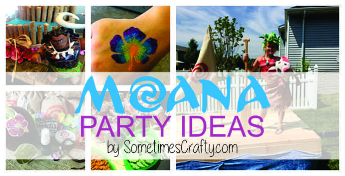 Moana Party Ideas by SometimesCrafty.com