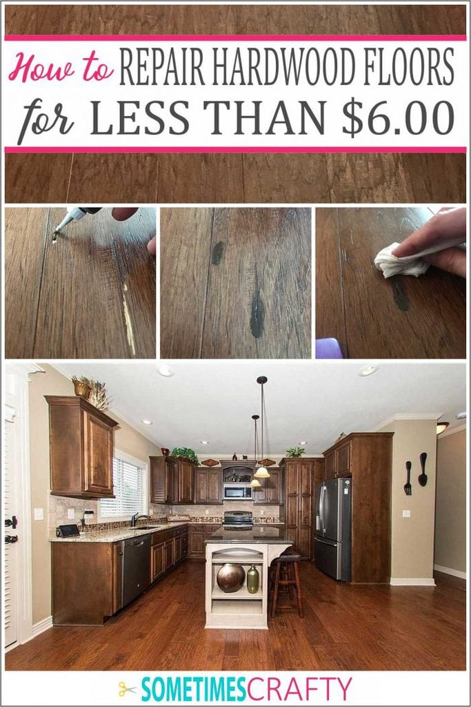 How to Repair Hardwood Floor Scratches for Less Than Six Dollars
