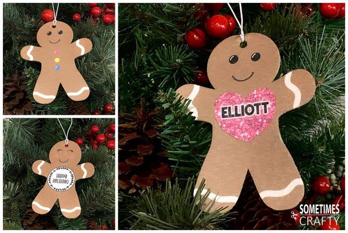 Candyland Studio Gingerbread Felt Ornaments - cute Christmas gift idea