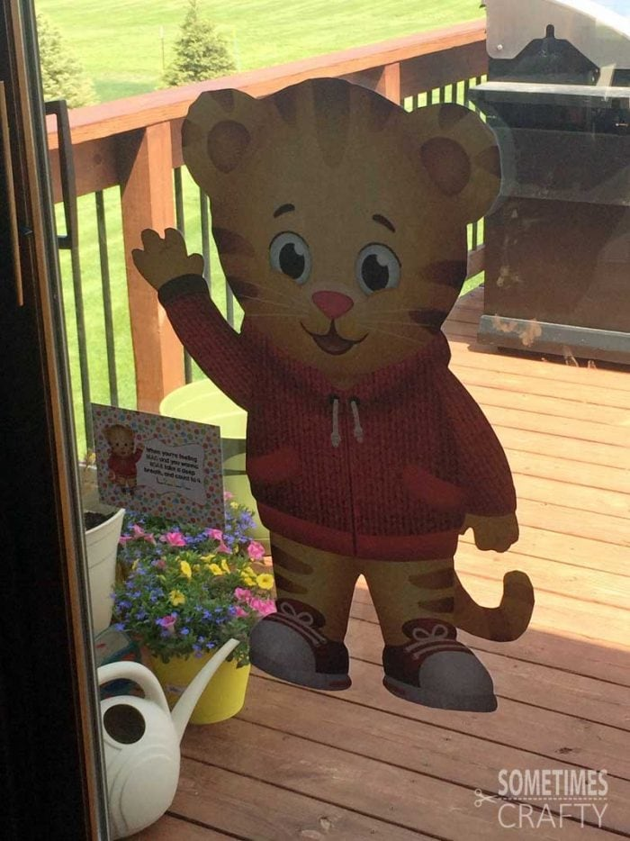 Giant Daniel Tiger Sticker