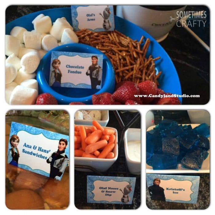 Frozen Birthday Party Food