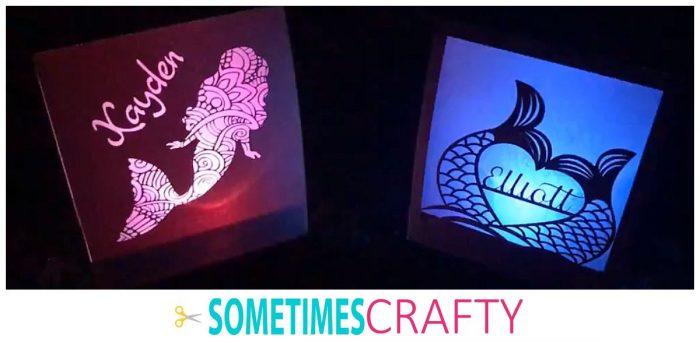 Mermaid Luminaries