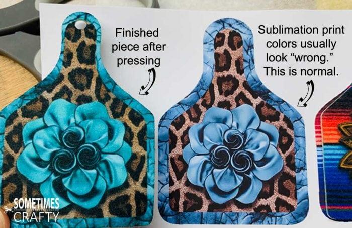 Sublimation Print vs Pressed Piece